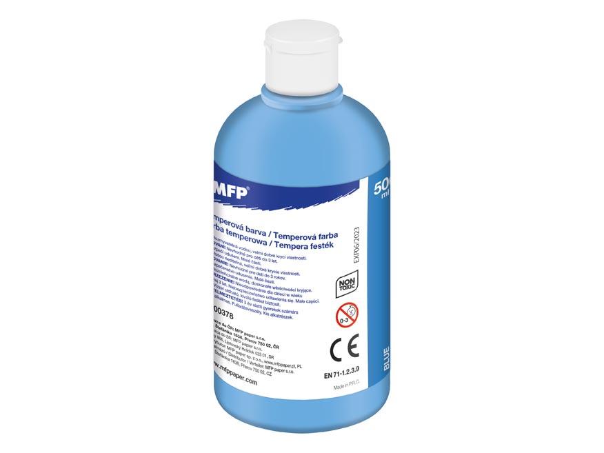 farba temperová 500ml modrá svetlá 6300378