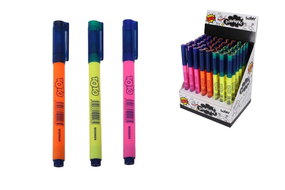 Zvýrazňovač W009604 48 ks mix farieb