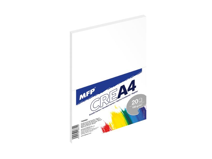 Kresliaci kartón A4 20 listov