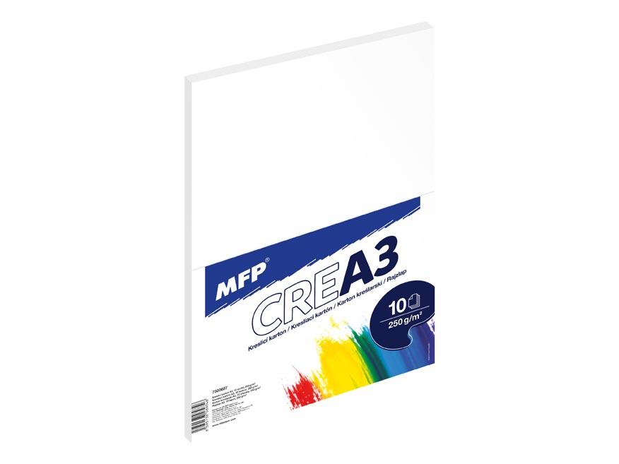 Kresliaci kartón MFP A3 10 listov 250g