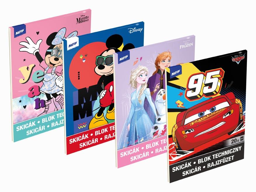 Skicár MFP Disney A4/20 listov