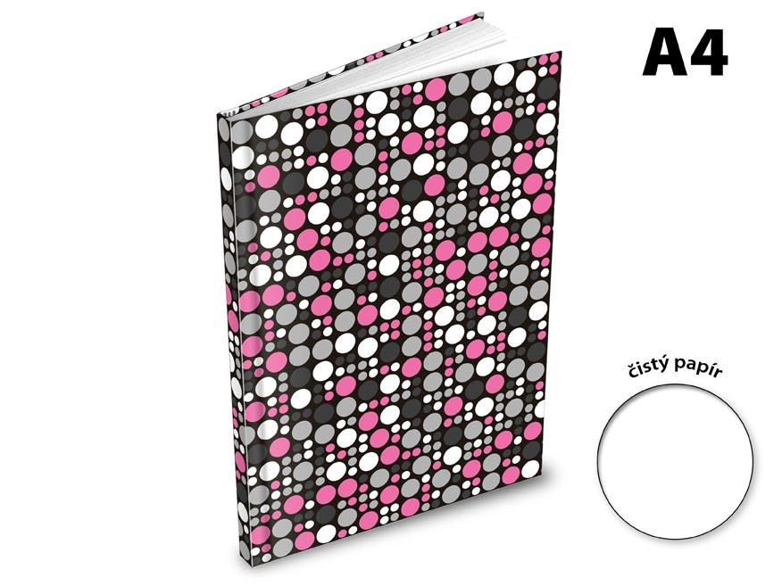Záznamová kniha A4 MFP 100l/čístá ZL4100
