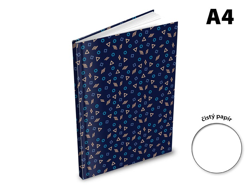 Záznamová kniha A4 MFP 100l/čistá ZL4100