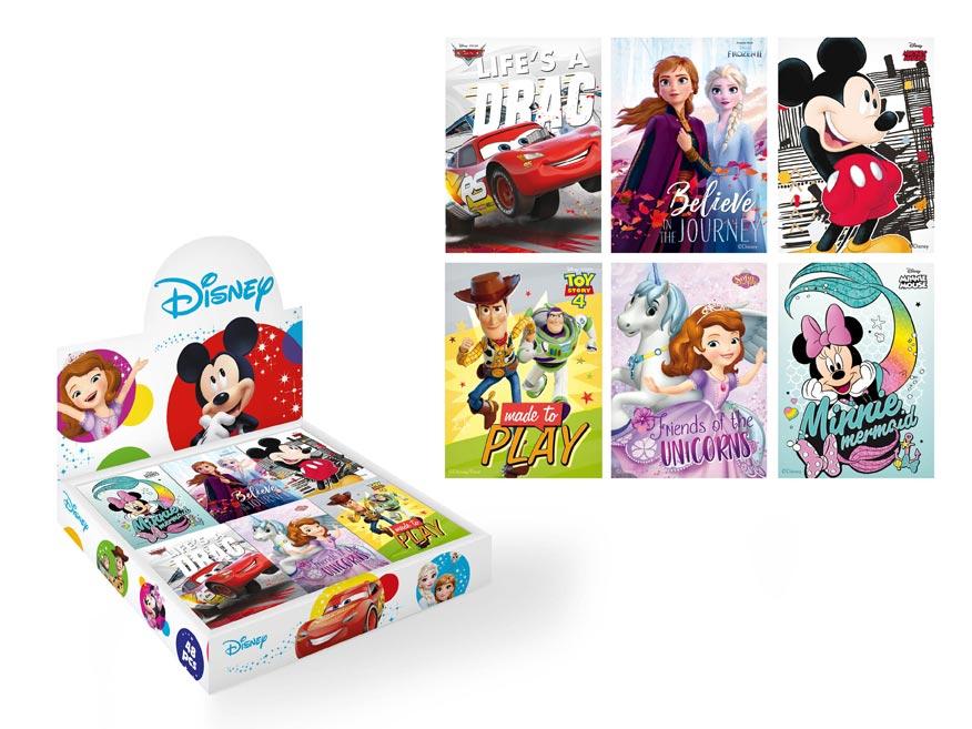 bloček malý Disney 83x60x - 40listov 7501004