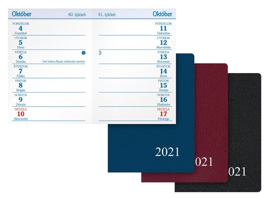 sK Diár 2021 T101/PVC týždenný 7780963