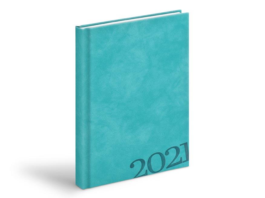 Diár 2021 D801 PU turquoise