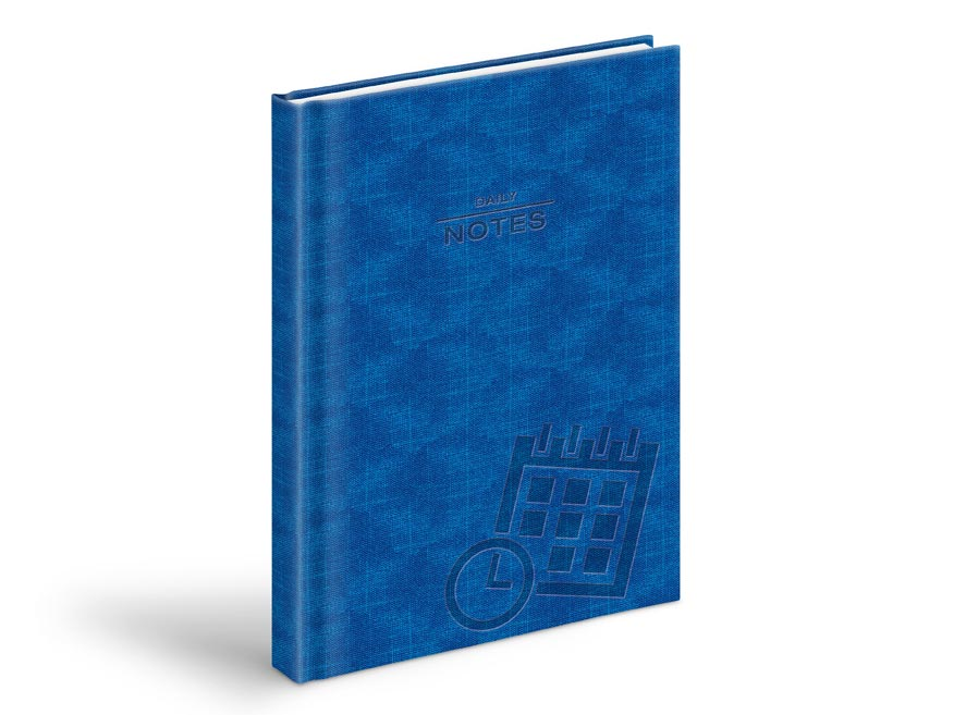 denné záznamy - PU modrý 7781035