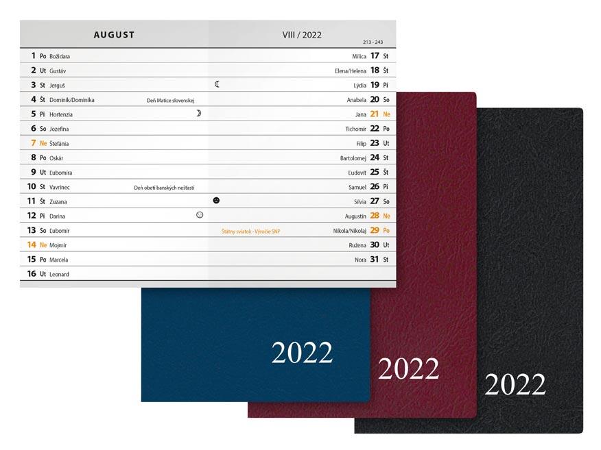 sK Diár 2022 M102/PVC mesačný 7781051