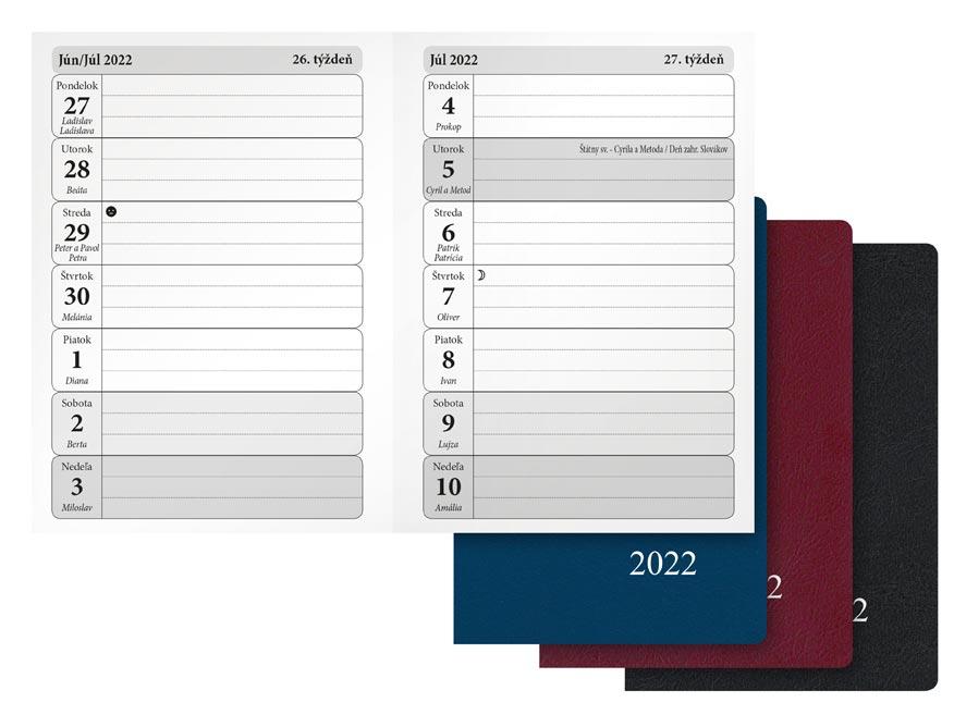 sK Diár 2022 T102/PVC týždenný 7781054