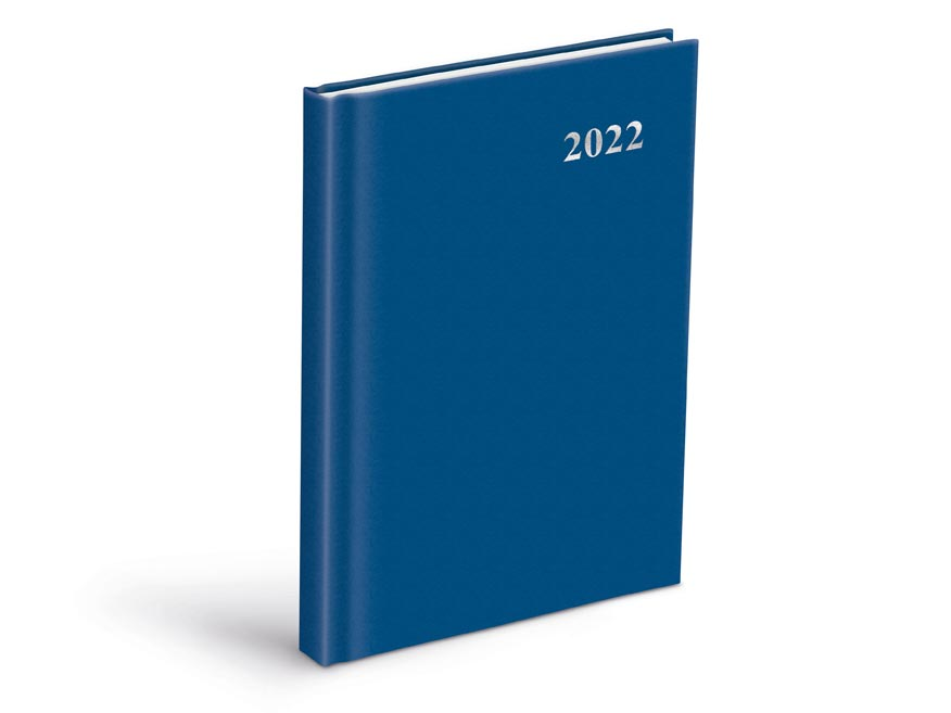 diár 2022 D801 PVC Blue 7781077