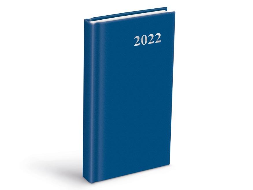 diár 2022 D802 PVC Blue 90x170 mm 7781089