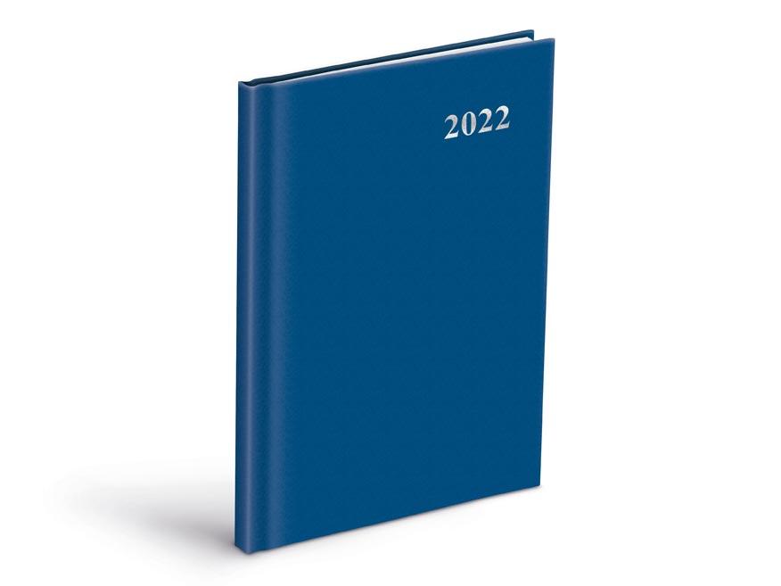 diár 2022 T805 PVC Blue 7781105