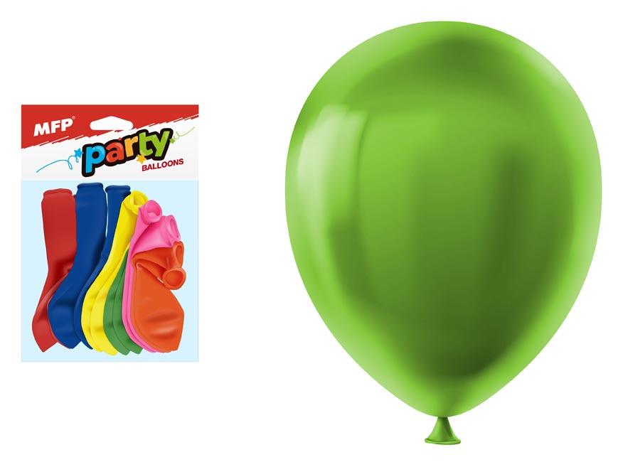 Balónik M balenie 12ks neón 23cm mix
