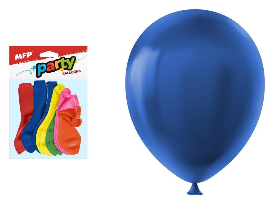 Balónik M balenie 12ks štandard 30cm mix