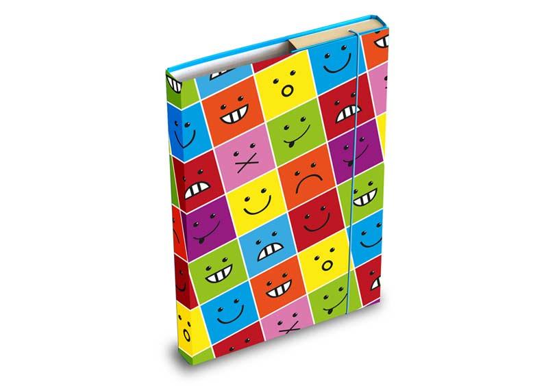 Dosky na zošity MFP box A5 Smile 61