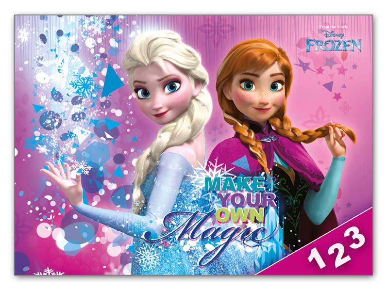 Dosky na číslice MFP Disney (Frozen)