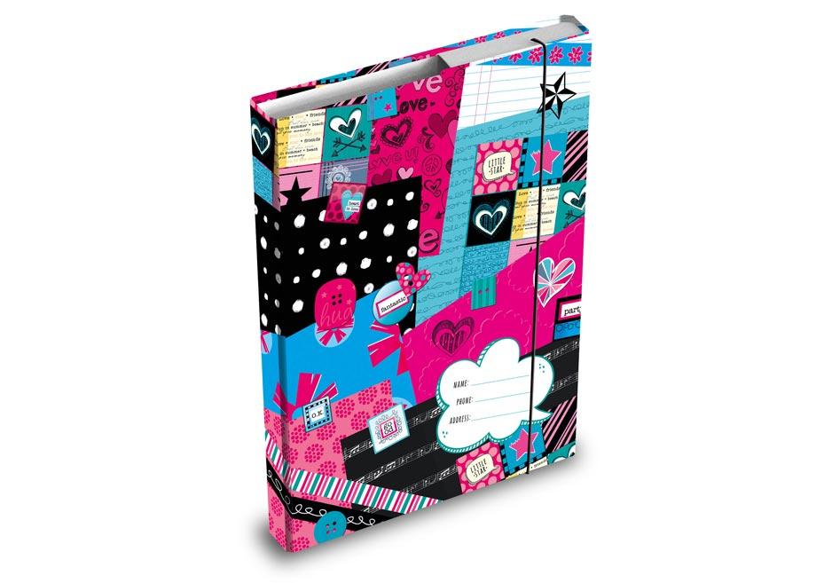 Dosky na zošity MFP box A4 Teen