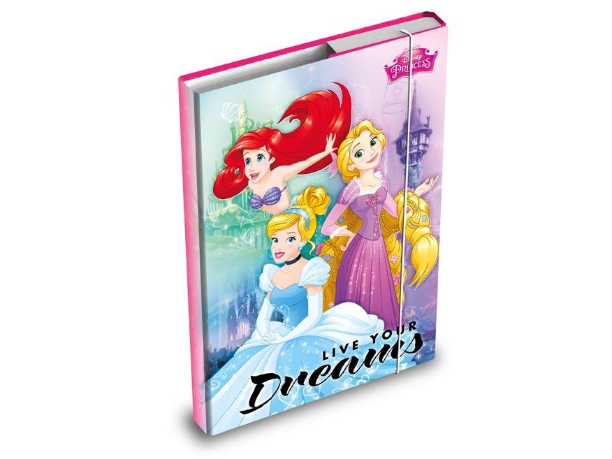dosky na zošity box A4 Disney (Princess) 8020806