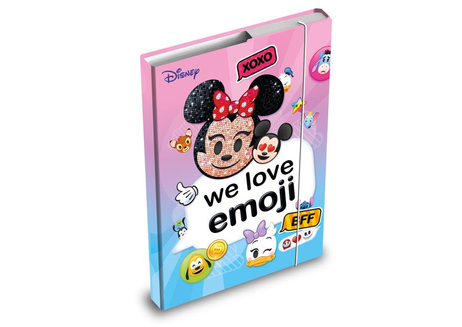 dosky na zošity box A4 Disney (Emoji) 8020808