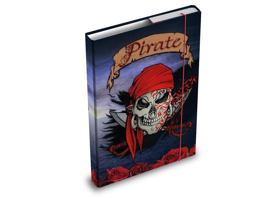 Dosky na zošity MFP box A5 Piráti