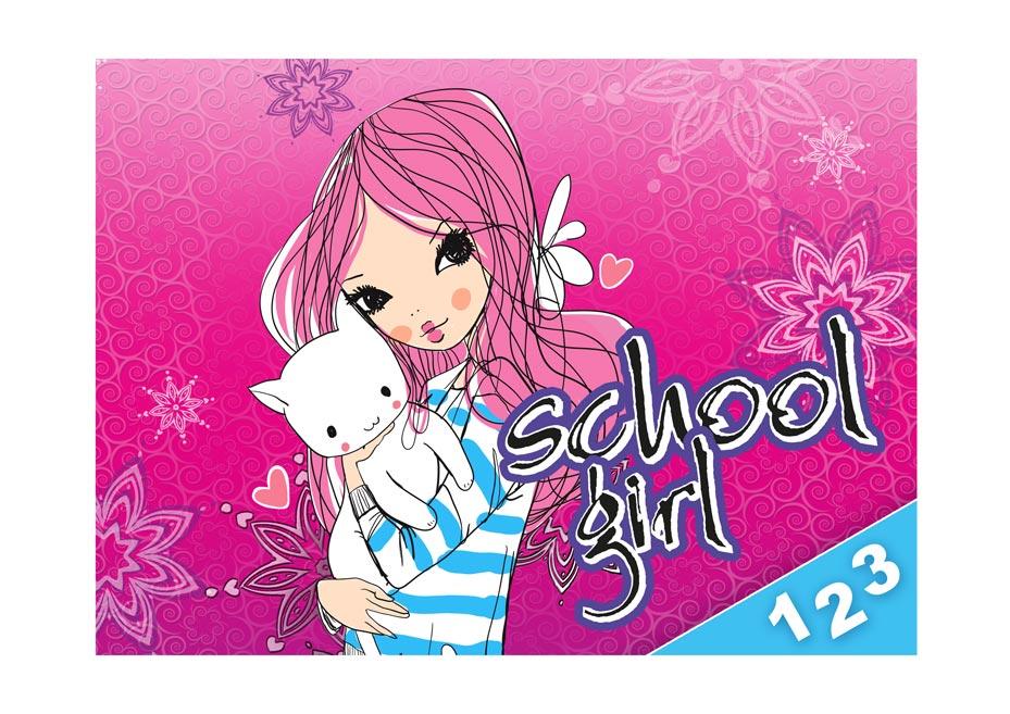 dosky na číslice Girl 8020828