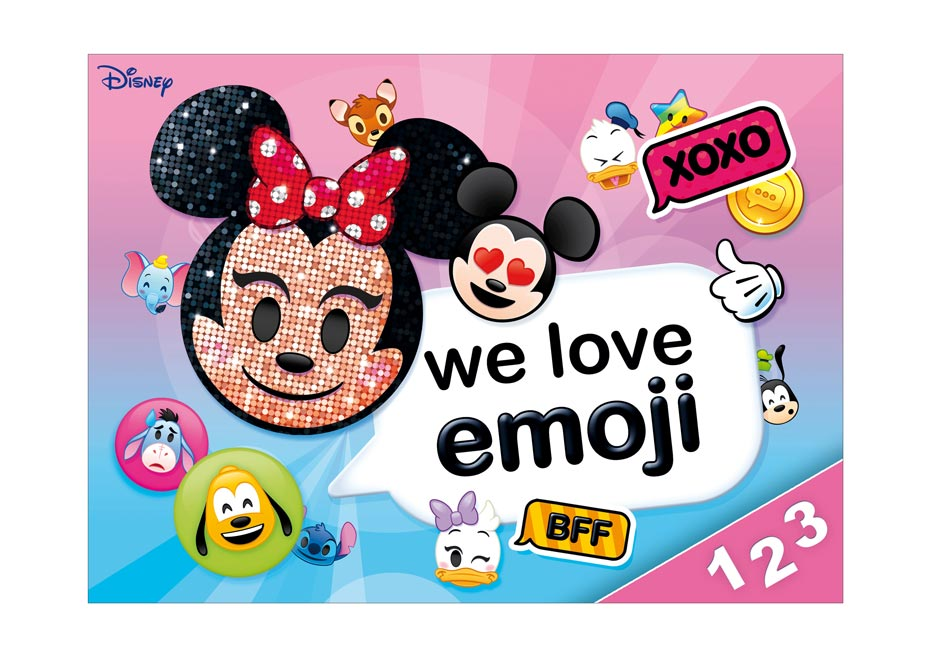 Dosky na číslice MFP Disney (Emoji)