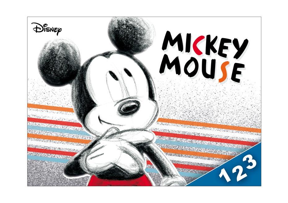 Dosky na číslice MFP Disney (Mickey)