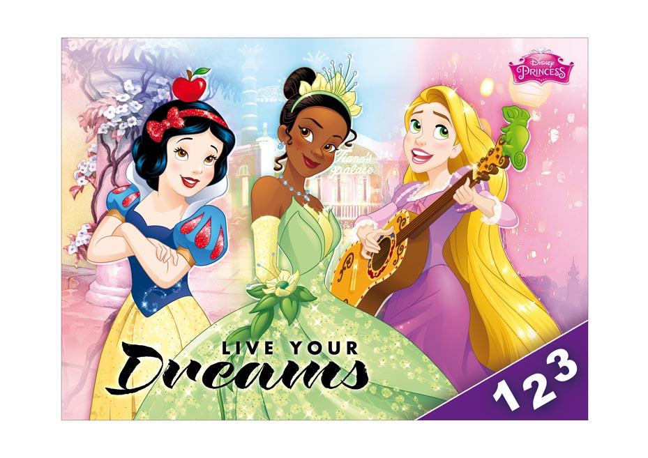 Dosky na číslice MFP Disney (Princess)