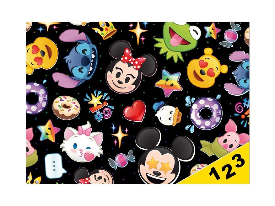 dosky na číslice Disney (Emoji) 8020835