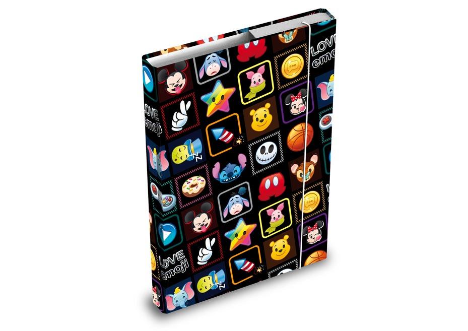 Dosky na zošity MFP box A4 Disney (Emoji)