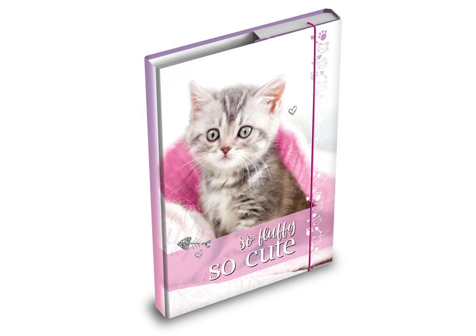Dosky na zošity MFP box A4 Kočka