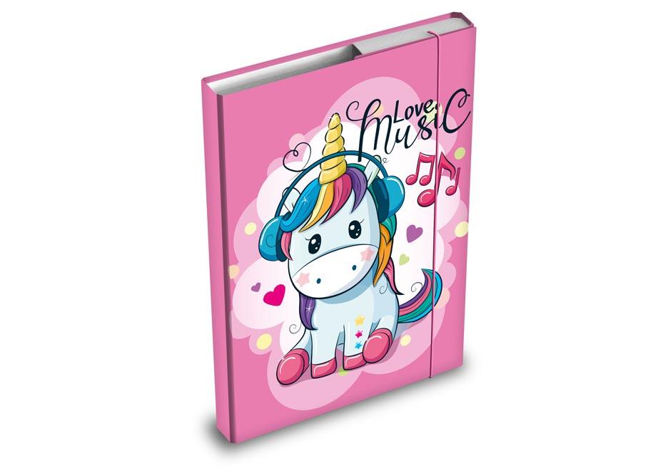 Dosky na zošity MFP box A4 Unicorn