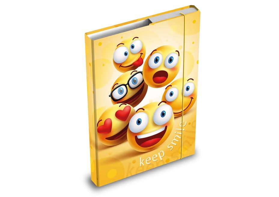 dosky na zošity box A5 Smile 8020858
