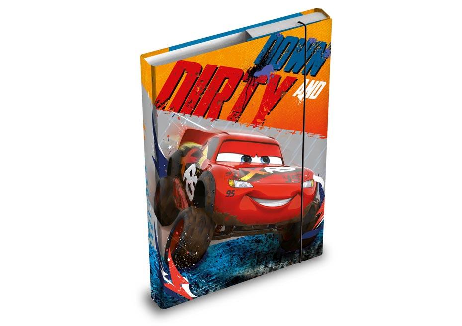 Dosky na zošity MFP box A4 Disney (Cars)