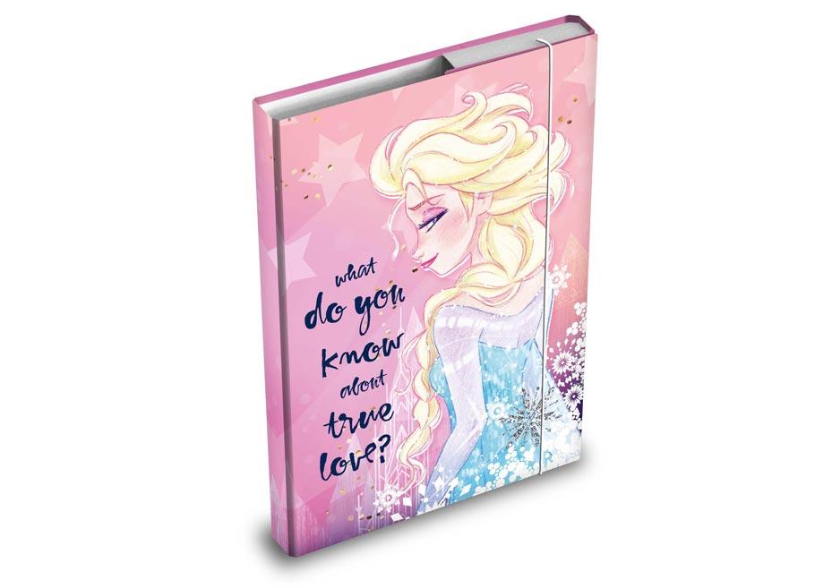 dosky na zošity box A4 Disney (Frozen) 8020873
