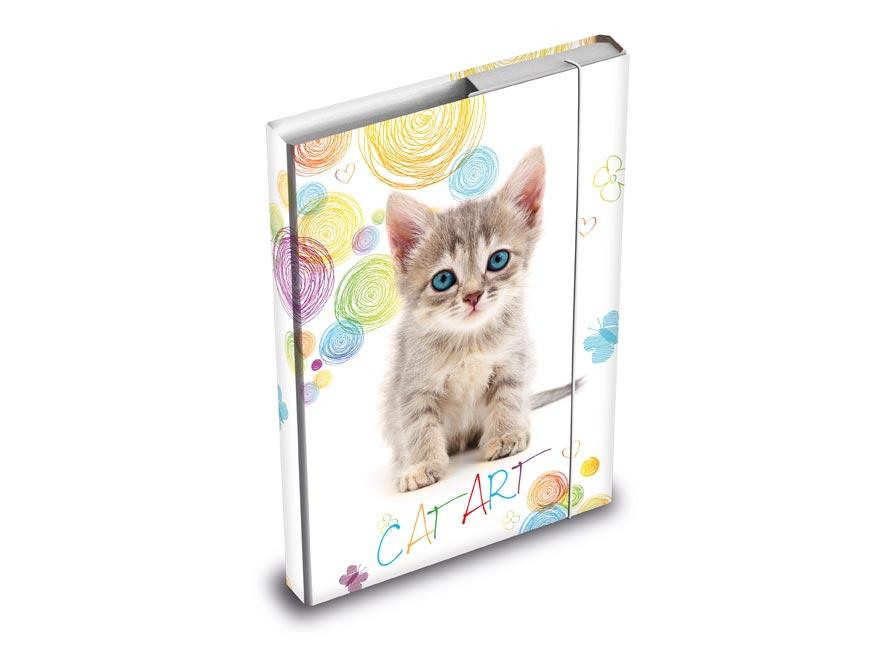 dosky na zošity box A5 Mačka 8020880