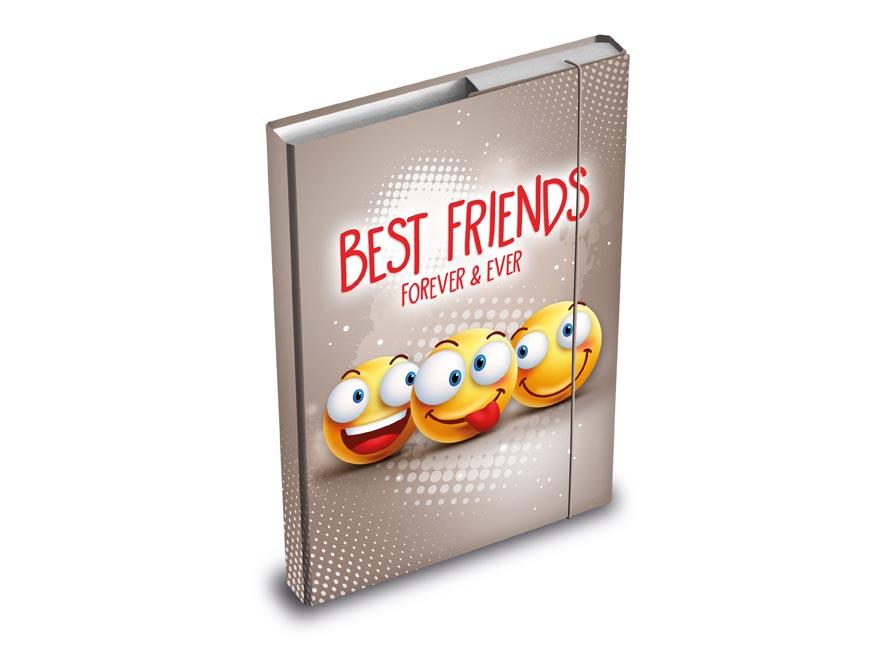 MFP 8020896 Dosky na zošity box A4 Smile
