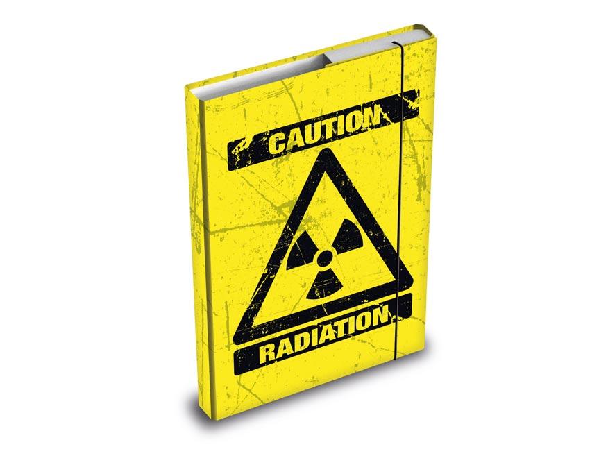 Dosky na zošity MFP box A4 Caution