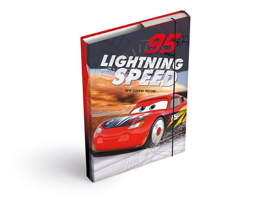 dosky na zošity box A4 Disney (Cars) 8020900
