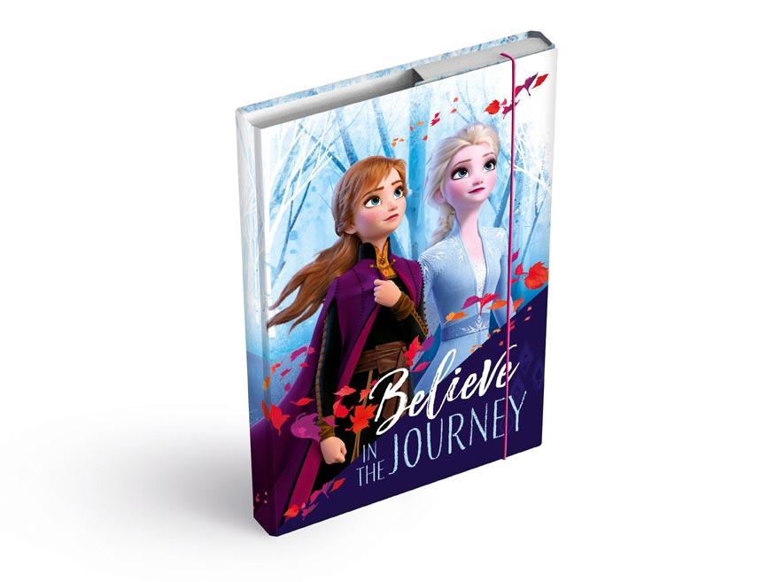dosky na zošity box A4 Disney (Frozen) 8020902