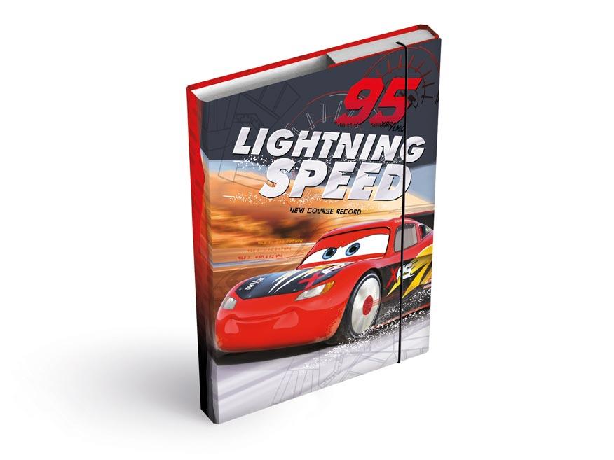 dosky na zošity box A5 Disney (Cars) 8020903