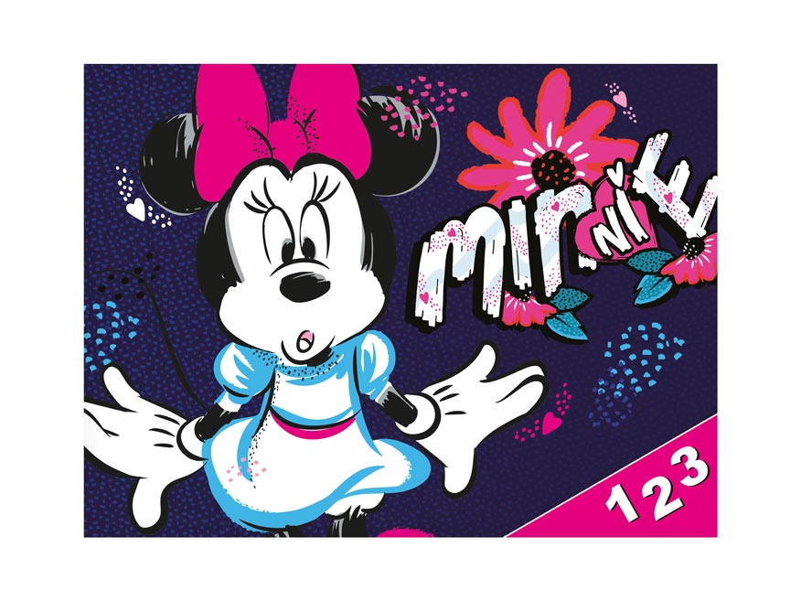 dosky na číslica Disney (Minnie) 8020917