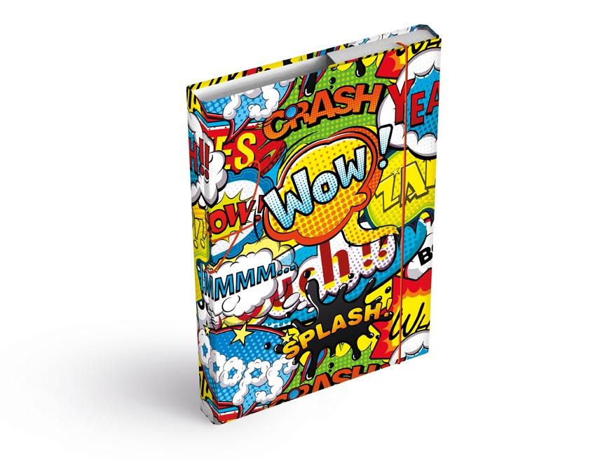 MFP 8020924 Dosky na zošity box A4 Comics