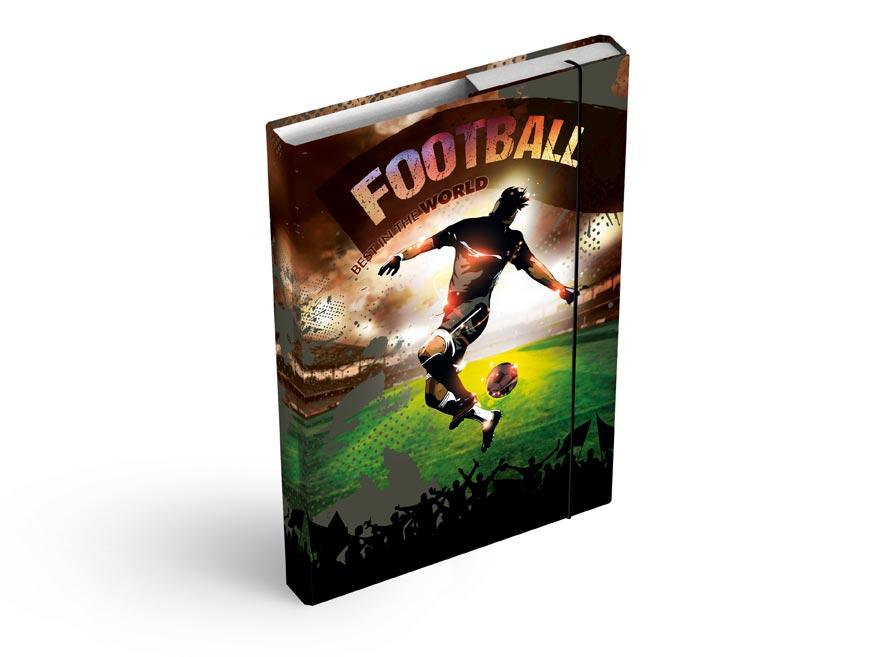 MFP 8020928 Dosky na zošity box A4 Fotbal