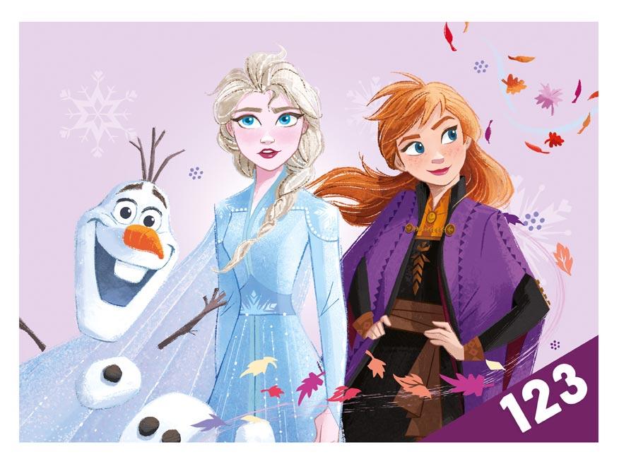 dosky na číslice Disney (Frozen) 8020957