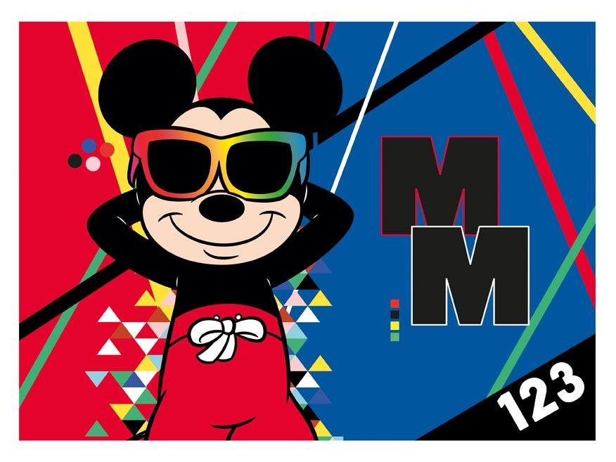 dosky na číslice Disney (Mickey) 8020959