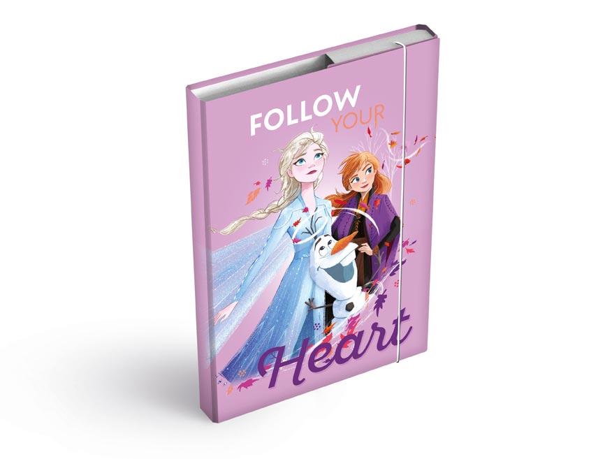 MFP 8020963 Dosky na zošity box A4 Disney (Frozen)