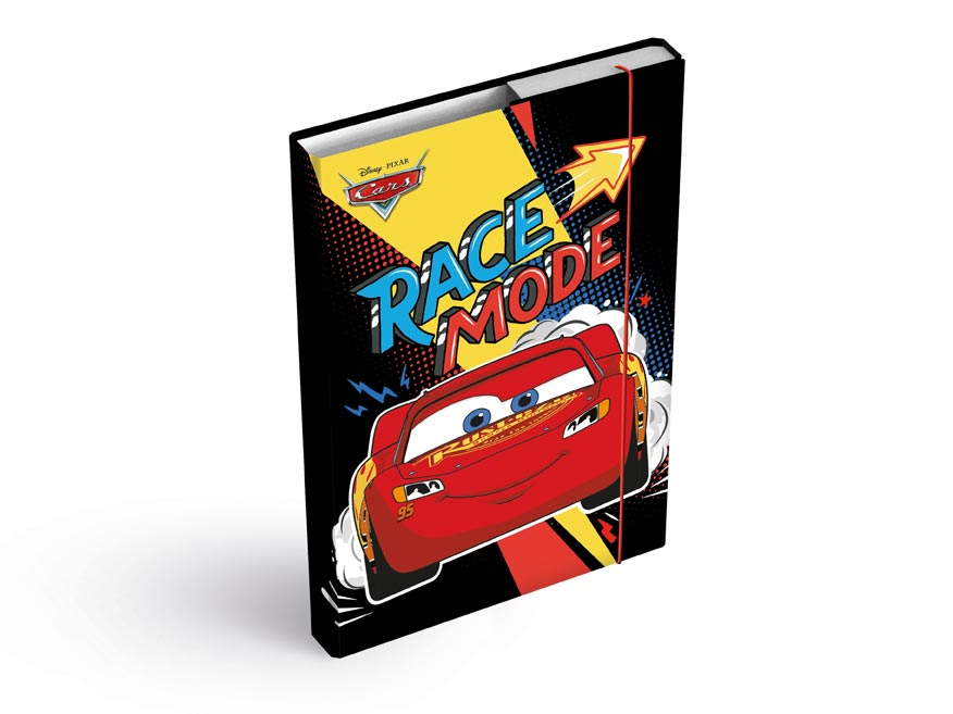 dosky na zošity box A4 Disney (Cars) 8020965