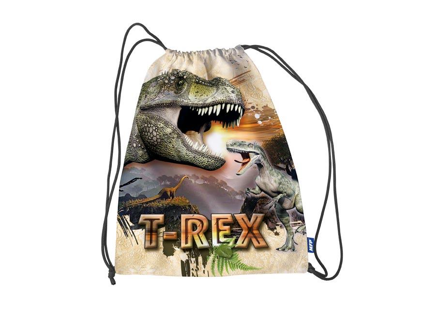 Vrecko na prezúvky Dino 31 x 42 cm