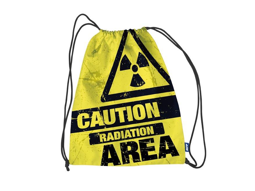 vrecko na prezúvky Caution 30x39cm 8040862